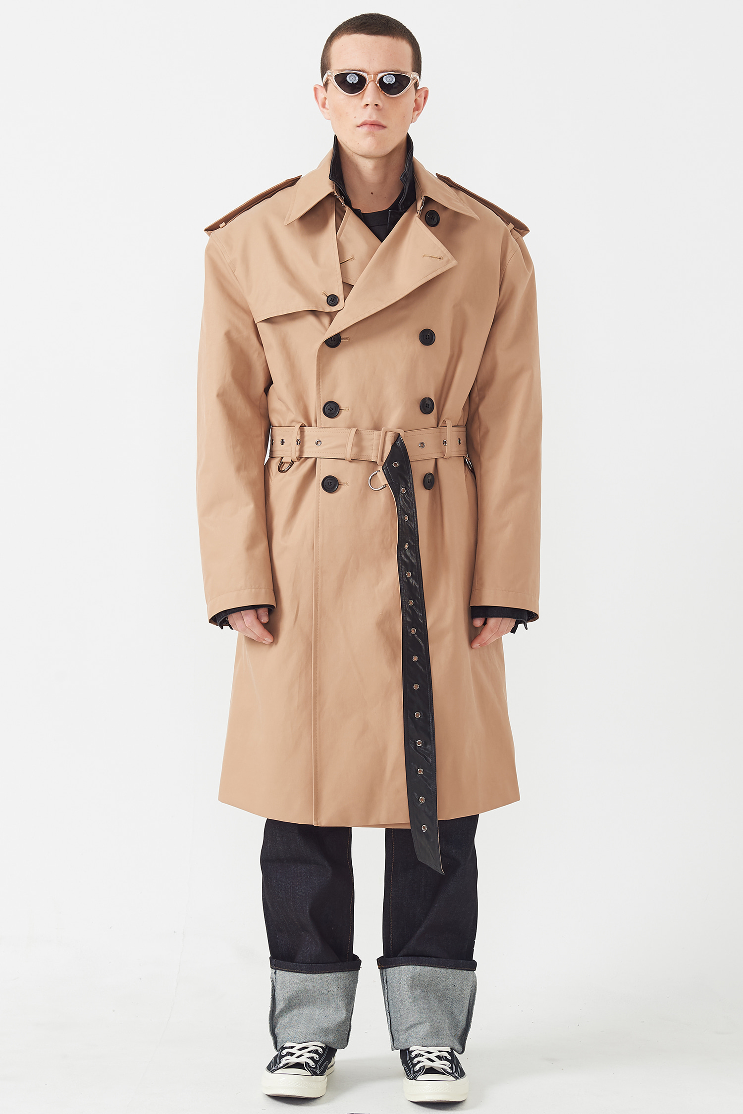 CUFFS TRENCH COAT